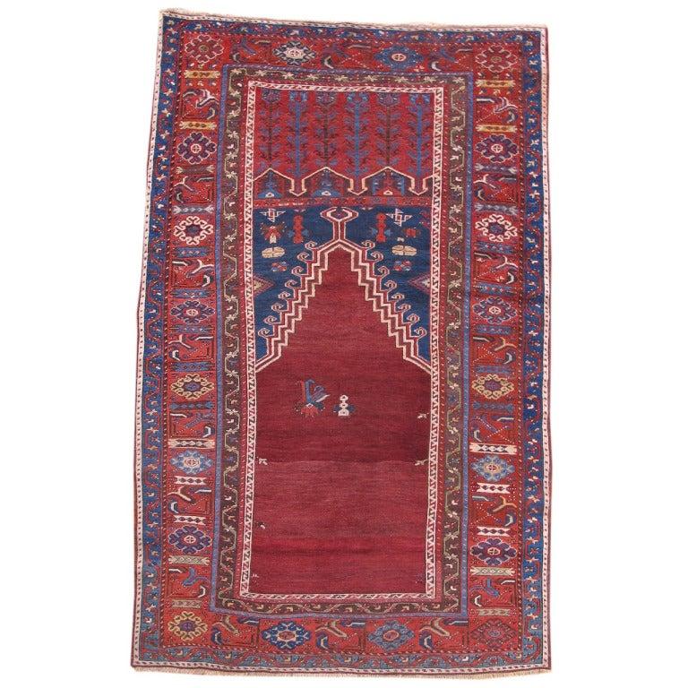Turkish Ground Rug: Turkish Ladik Rug For Sale At 1stdibs