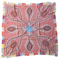 Embroidered Indian Shawl