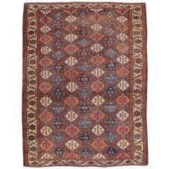 Mid 19th Century Red Chodor Main Carpet