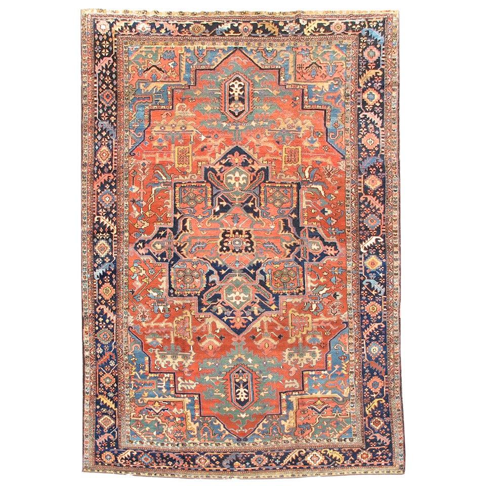 Heriz Carpet At 1stdibs