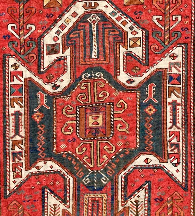 19th Century East Anatolian Long Rug For Sale