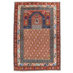 Antique Derbend Prayer Rug