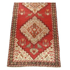 19th Century Caucasian Karabagh Gallery Runner with Delightful Rustic Charm