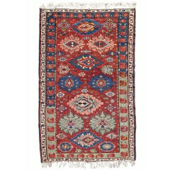 Antique Soumac Rug
