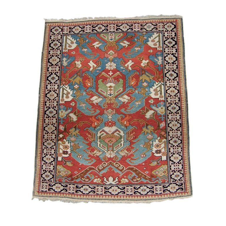 Chinese Rug Dealers: Antique Shirvan Rug At 1stdibs