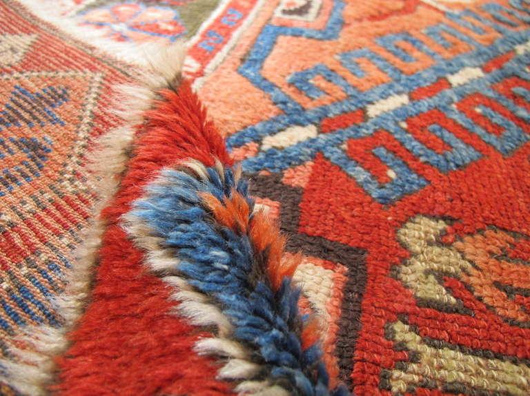 Anatolian Konya Rug with Apricot Hues For Sale 1