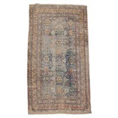 Caucasian Kuba carpet from 18th C with Subtle Design Motifs