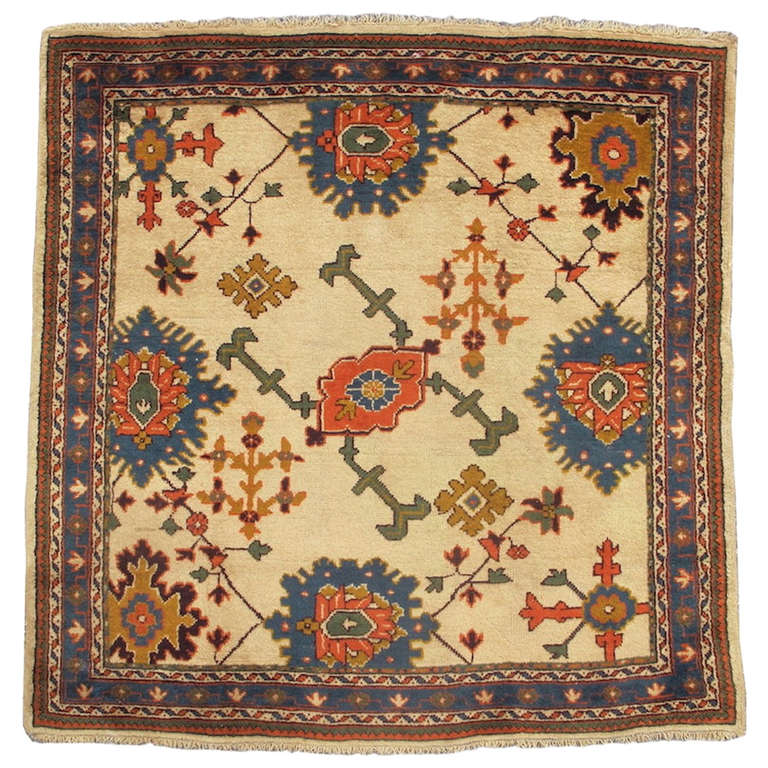 Classic Oushak Rug At 1stdibs