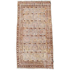 Early 20th Century Tan Khotan Rug