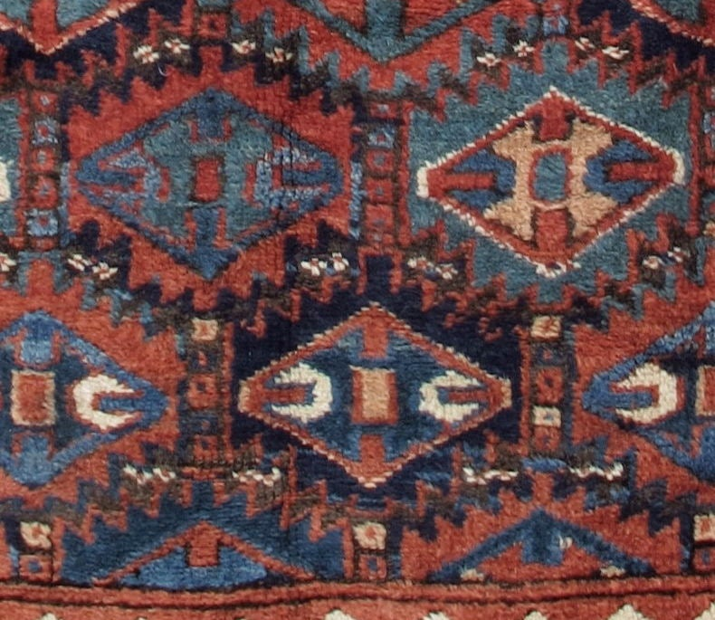 Antique Kurdish Rug image 3