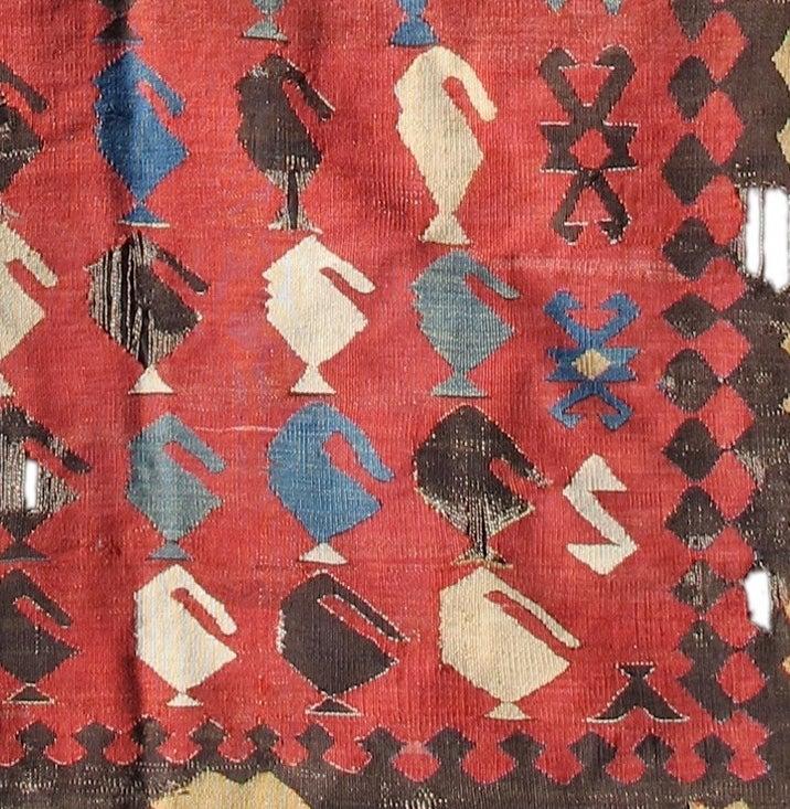 Caucasian Kilim Rug: Avar Kilim Rug At 1stdibs
