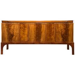 Kaj Gottlob for A.J. Iversen: A Rare and Important Mahogany Sideboard Cabinet