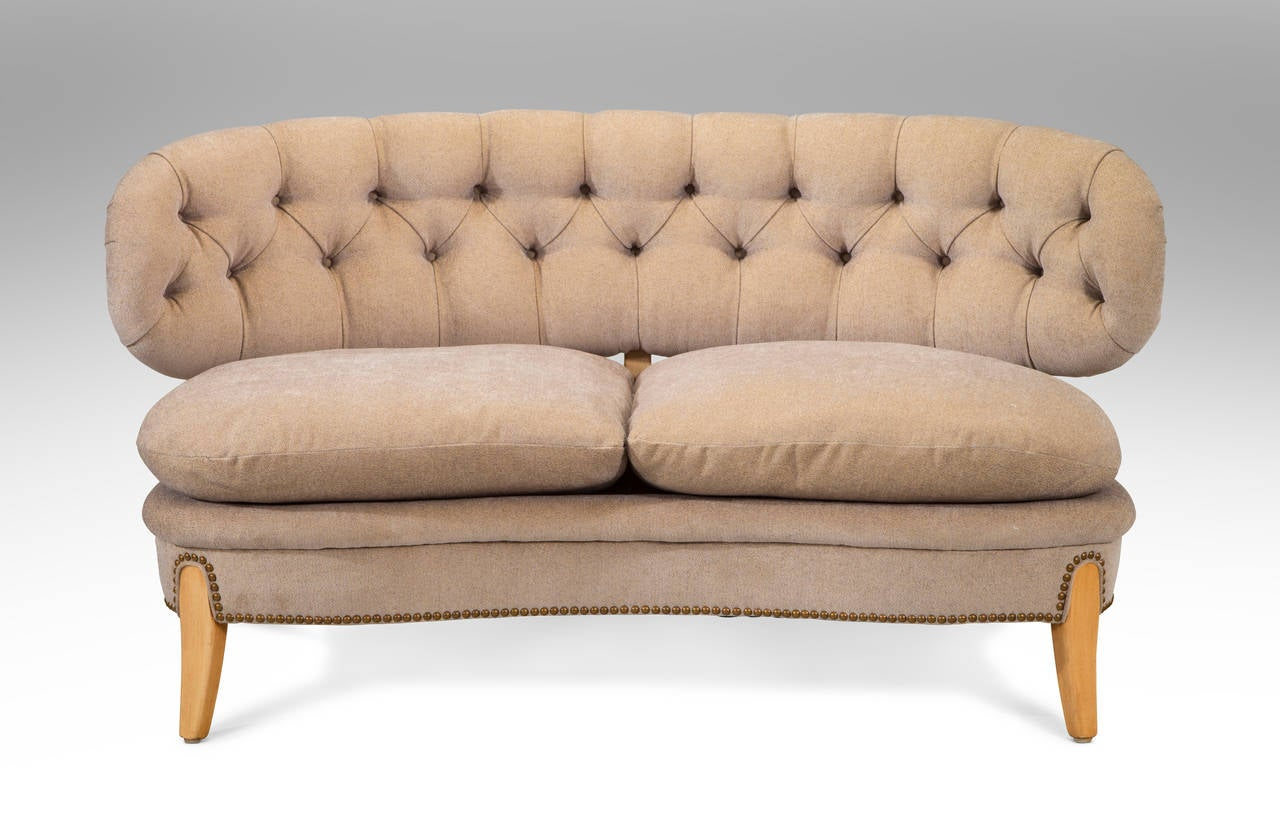 Otto Schulz for Jio Mobler: A Rare Beech and Upholstered ...