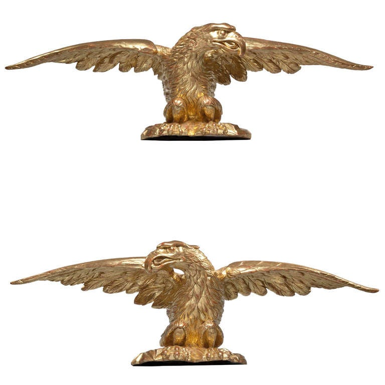 carved gilt eagles at 1stdibs