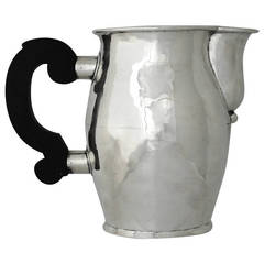 William Spratling Hand-Wrought Sterling Silver Pitcher, 1950