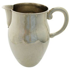RARE Spratling Hand-wrought 25oz Sterling Silver Pitcher, 1950