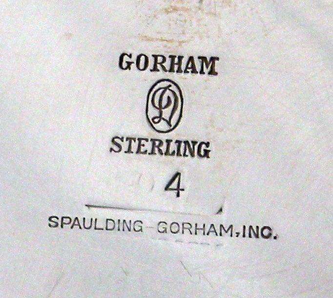 Art Deco 1929 Durgin/Gorham Sterling Silver Tea & Coffee Set 6