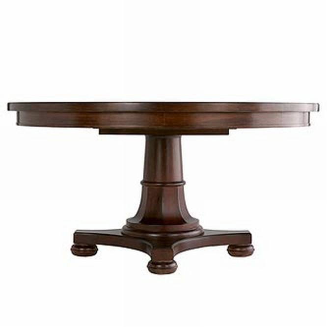 Martha Grand Lake Pedestal Table For
