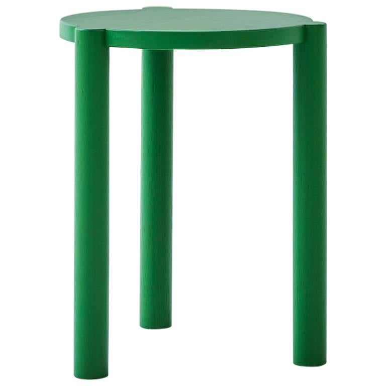 WC3 Stool by ASH NYC in Green For Sale