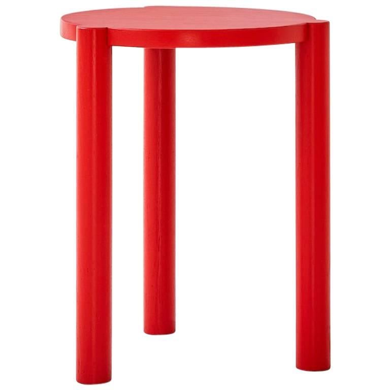 WC3 Stool by ASH, NYC in Red