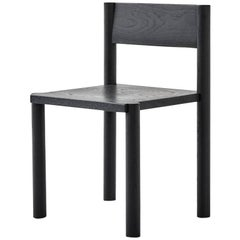 WC6 Chair by ASH NYC in Black Oak