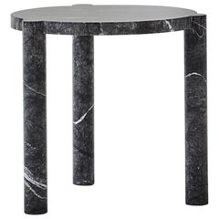 WC4 Side Table by ASH NYC in Grigio Carnico Marble