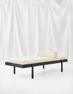 WC2 Daybed by ASH NYC in Black Oak