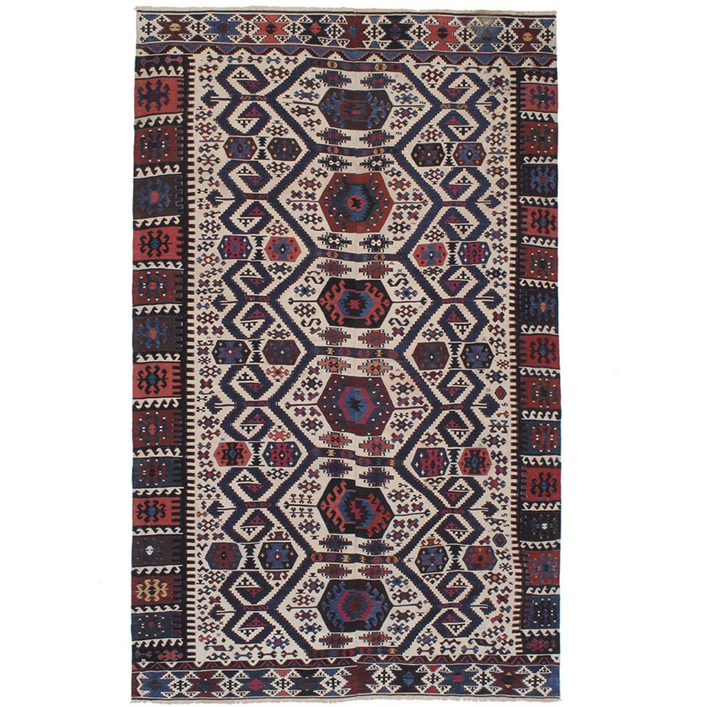 Antique Aydin Kilim For Sale At 1stdibs