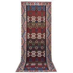 Impressive Antique Konya Kilim Rug