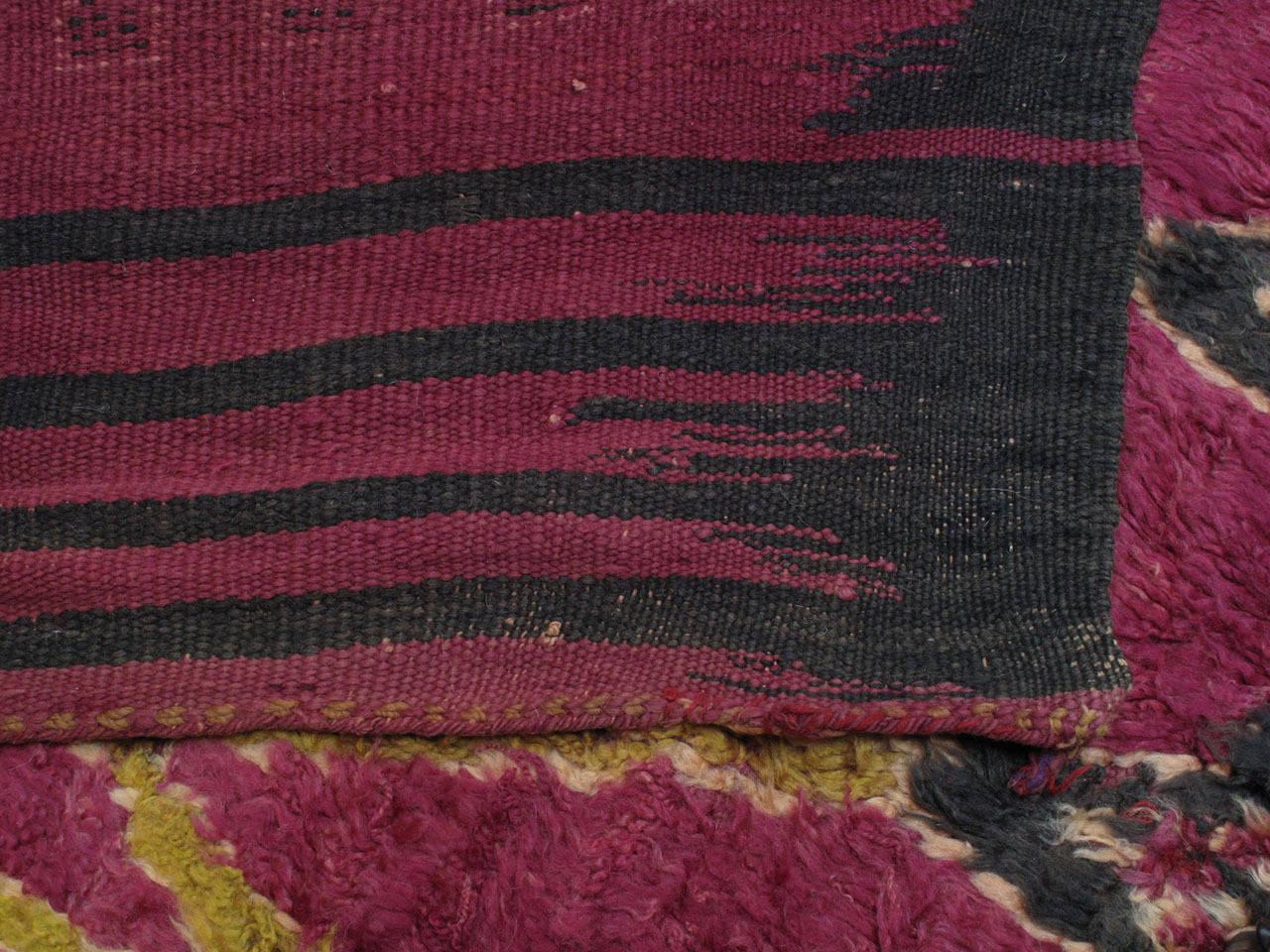 Ait Bou Ichaouen Moroccan Berber Carpet For Sale 3