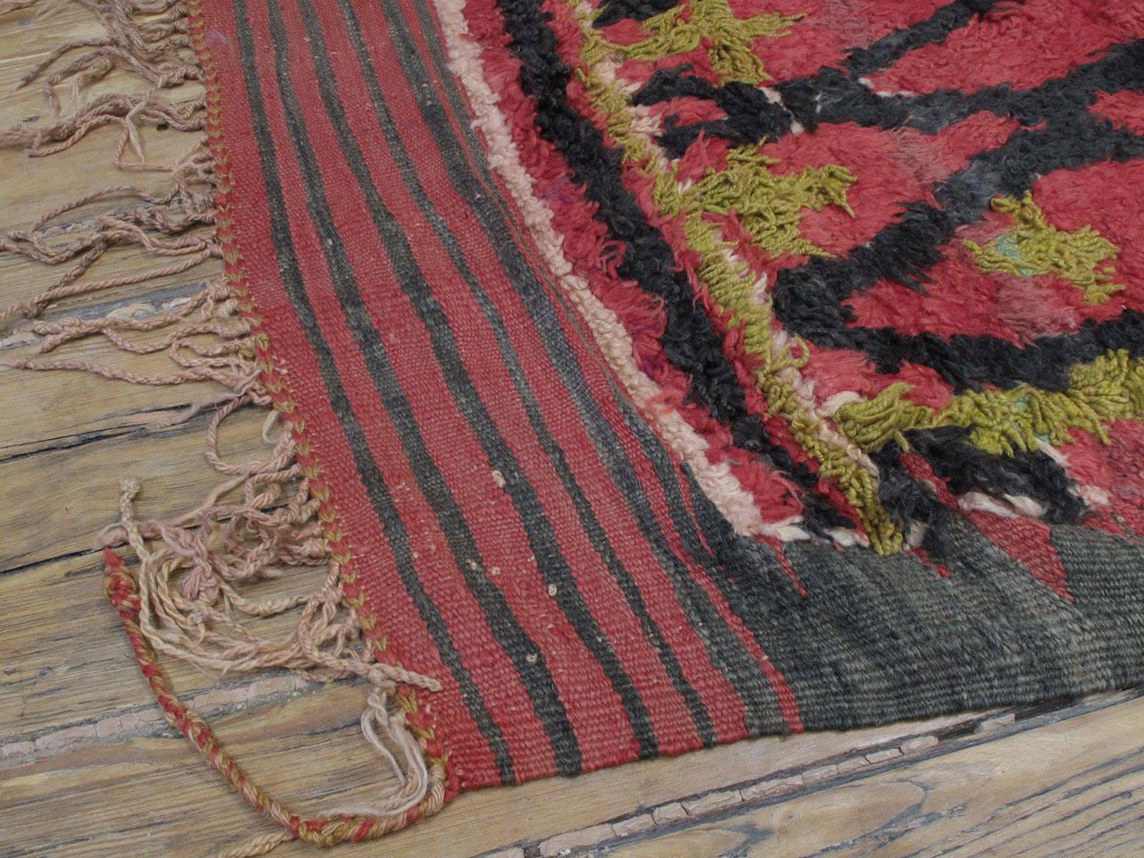 Ait Bou Ichaouen Moroccan Berber Carpet For Sale 2