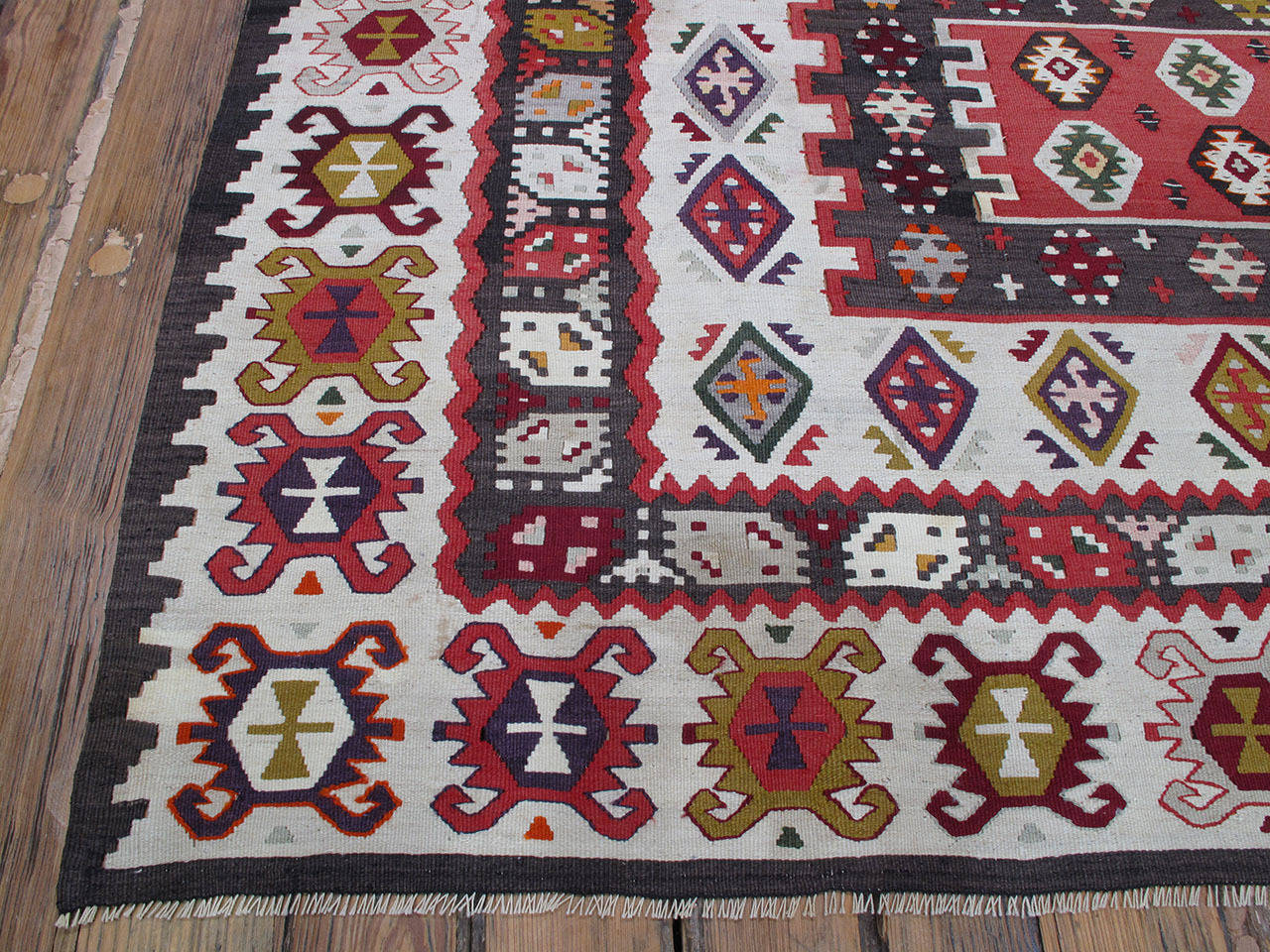Balkan Kilim Rug For Sale 1