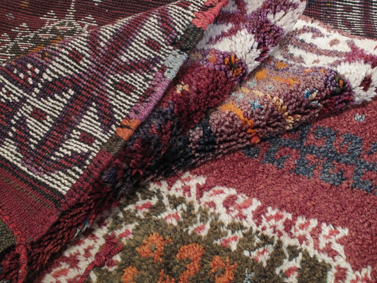 Mid-20th Century Herki Long Rug For Sale