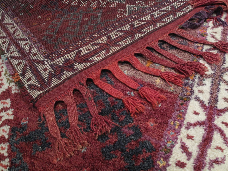Hand-Knotted Herki Long Rug For Sale