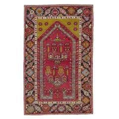 Antique Kirsehir Prayer Rug