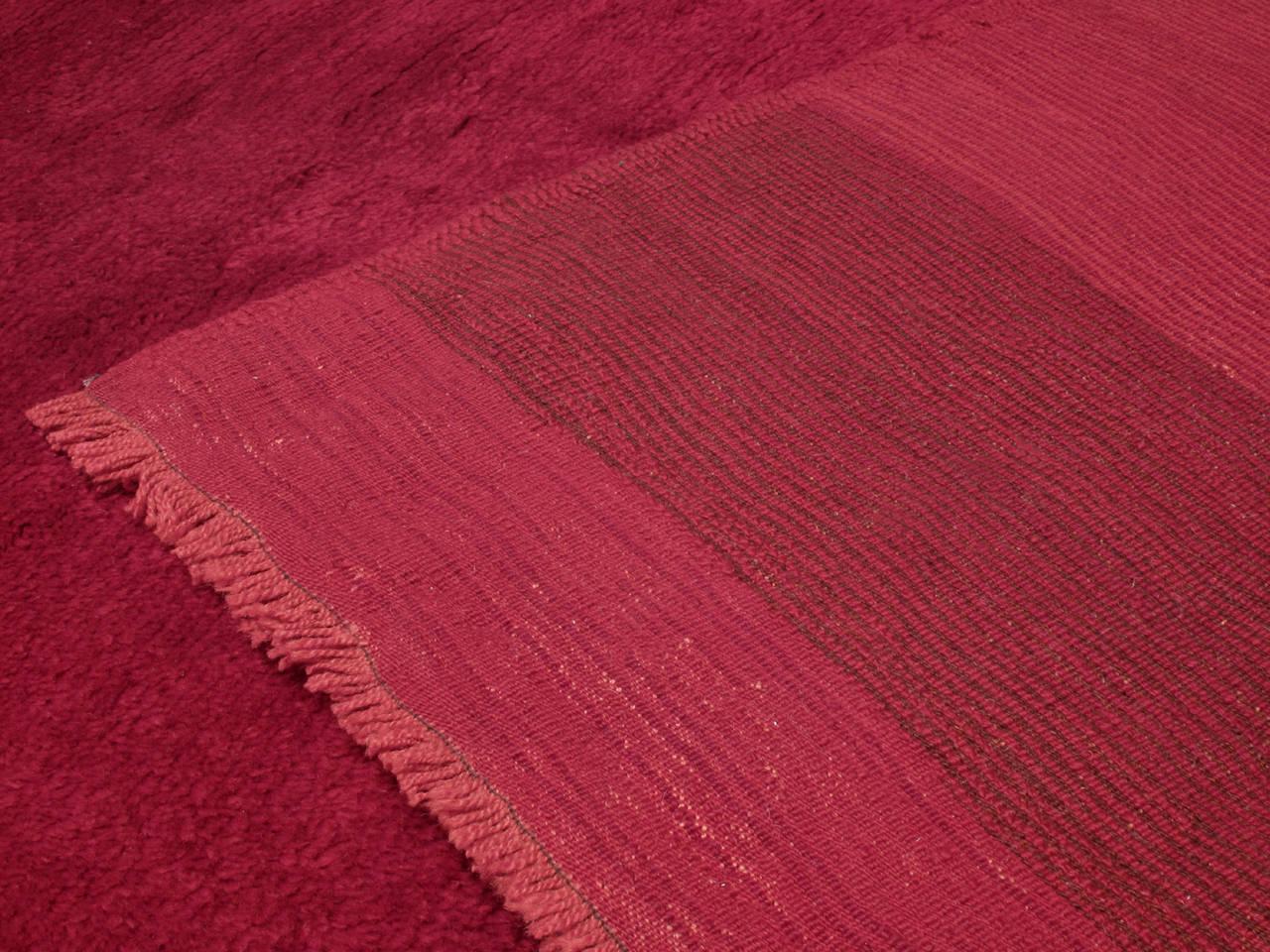 Fantastic Red Tulu Carpet 8