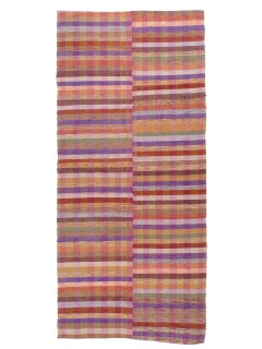 Colorful Banded Cover Rug