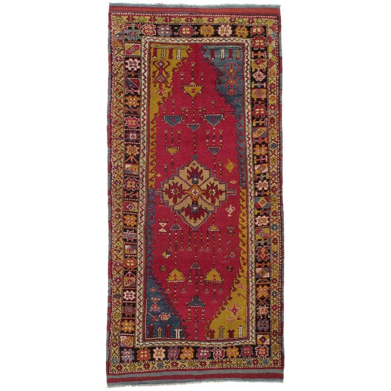 Antique West Anatolian Long Rug For Sale At 1stdibs