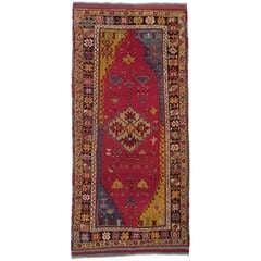Antique West Anatolian Long Rug