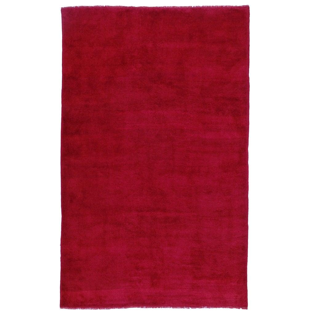 Fantastic Red Tulu Carpet 1