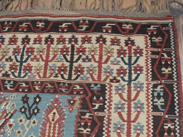 Turkish Antique Erzurum Kilim For Sale