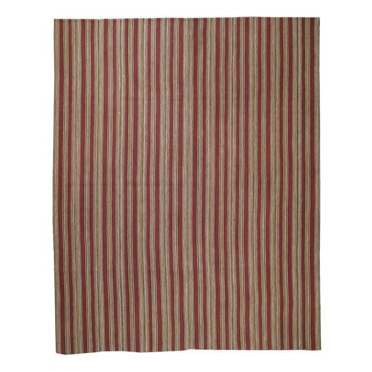 Striped Kilim At 1stdibs