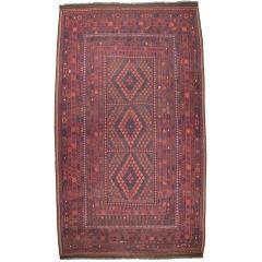Large Uzbek Kilim Rug