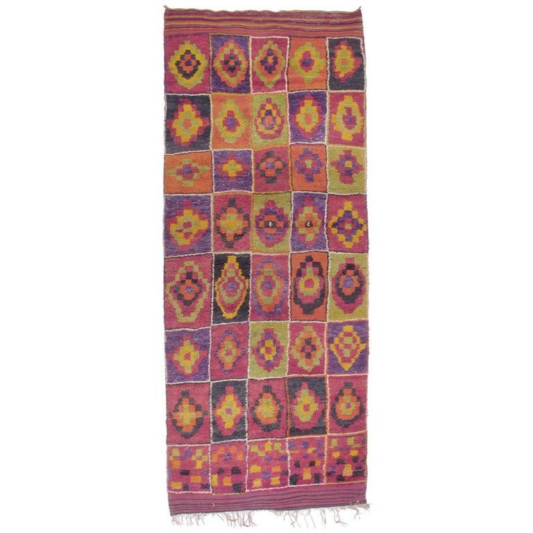 Ait Bou Ichaouen Moroccan Berber Carpet
