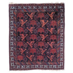 "Antique Afshar ""Dragons"" Rug"