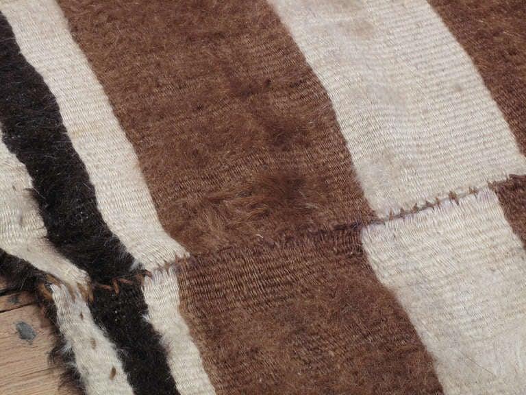 Mid-20th Century Angora Blanket For Sale