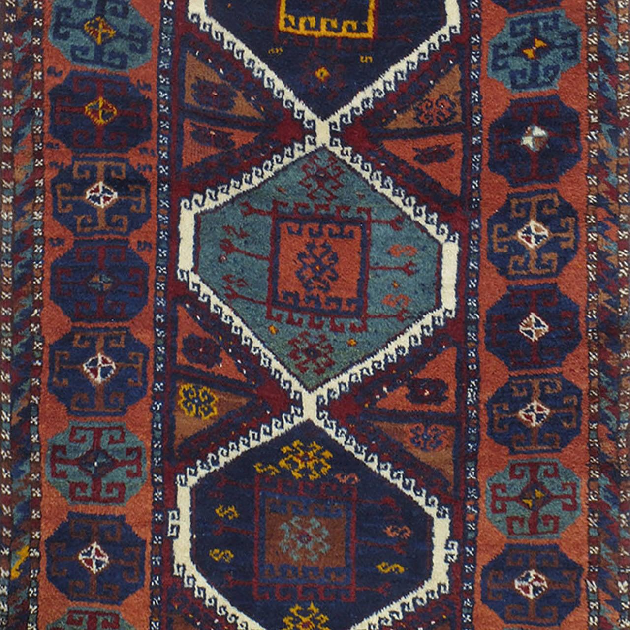 Antique Kurdish Rug For Sale At 1stdibs