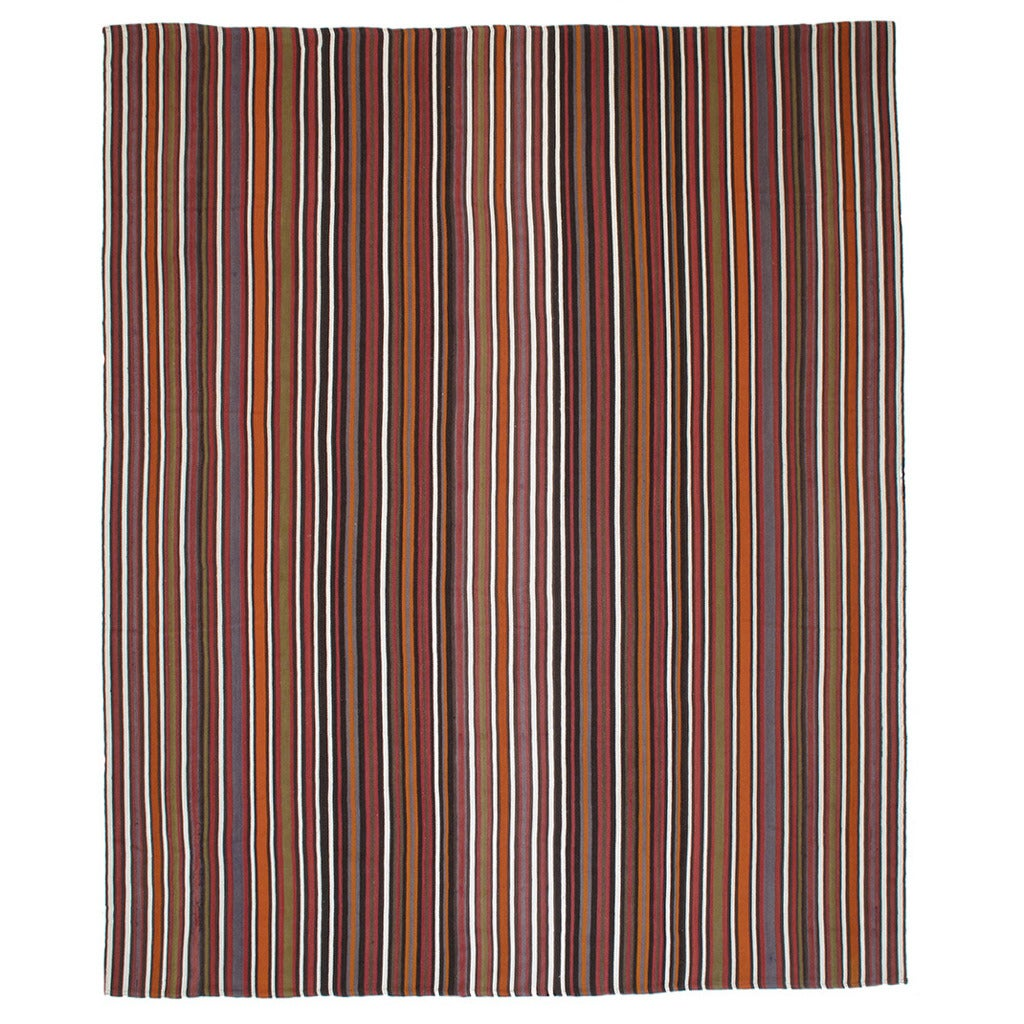 Large And Colorful Striped Jajim For Sale At 1stdibs