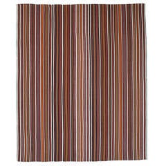 Large and Colorful Striped Jajim Rug