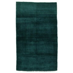 Karapinar Rug in Emerald Green